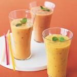 Papaya Ginger smoothie from Martha Stewart