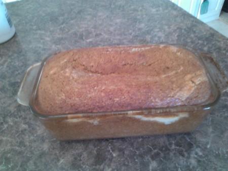 pumpkin cheese cake bread